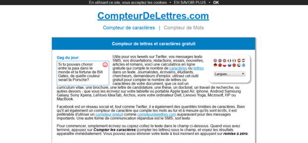 CompteurDeLettres.com