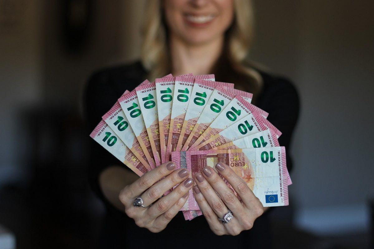 Recevoir de l'argent